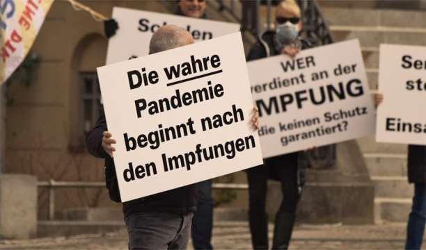9. April 2021 Schilderaktion in Birkenwerder